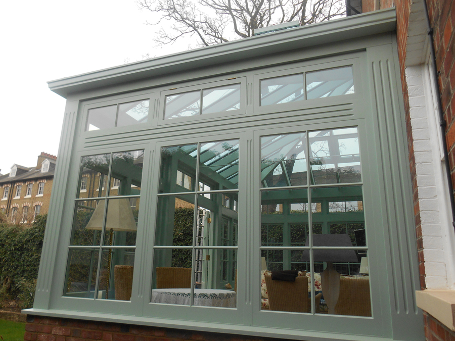 Nicholls joinery wooden conservatories london for Windows doors and conservatories