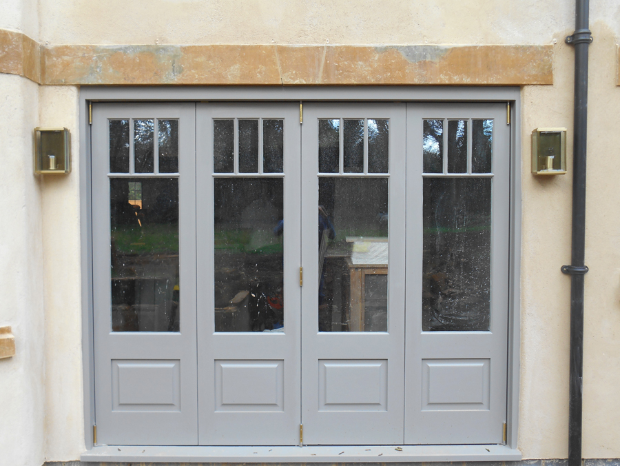 Wooden Folding Doors : Nicholls joinery bi fold doors